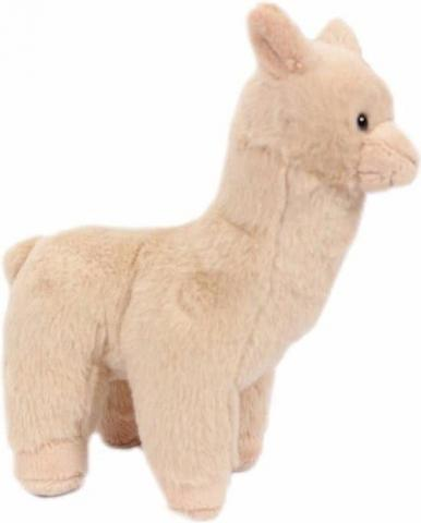 Beige pluche alpaca knuffel