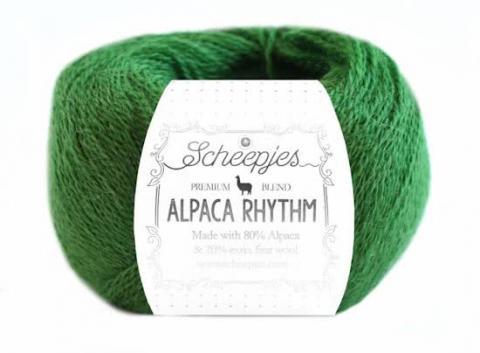 alpaca wol garen groen
