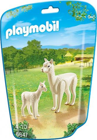 playmobil alpaca