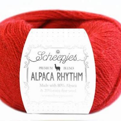 alpaca wol garen rood